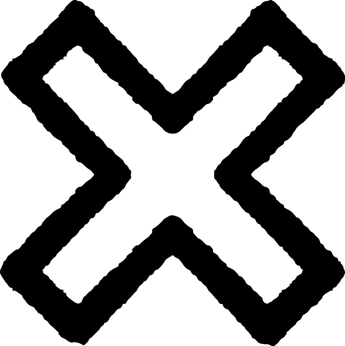 バツ・ペケ印×マークイラスト | かわいい無料イラスト素材
