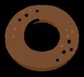 フロレスタっぽい普通のドーナツのイラスト素材透過png