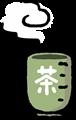 湯呑み茶碗のイラスト素材